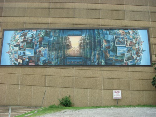 Mural in Lafayette...