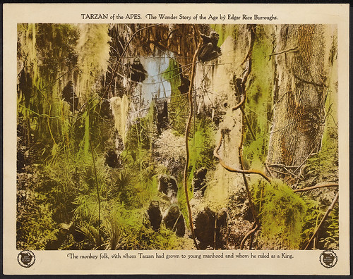 TARZAN OF THE APES (1918) lobby card