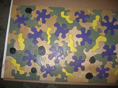 rick's puzzle (neovictorian) Tags: wooden puzzle jigsaw woodworking scrollsaw