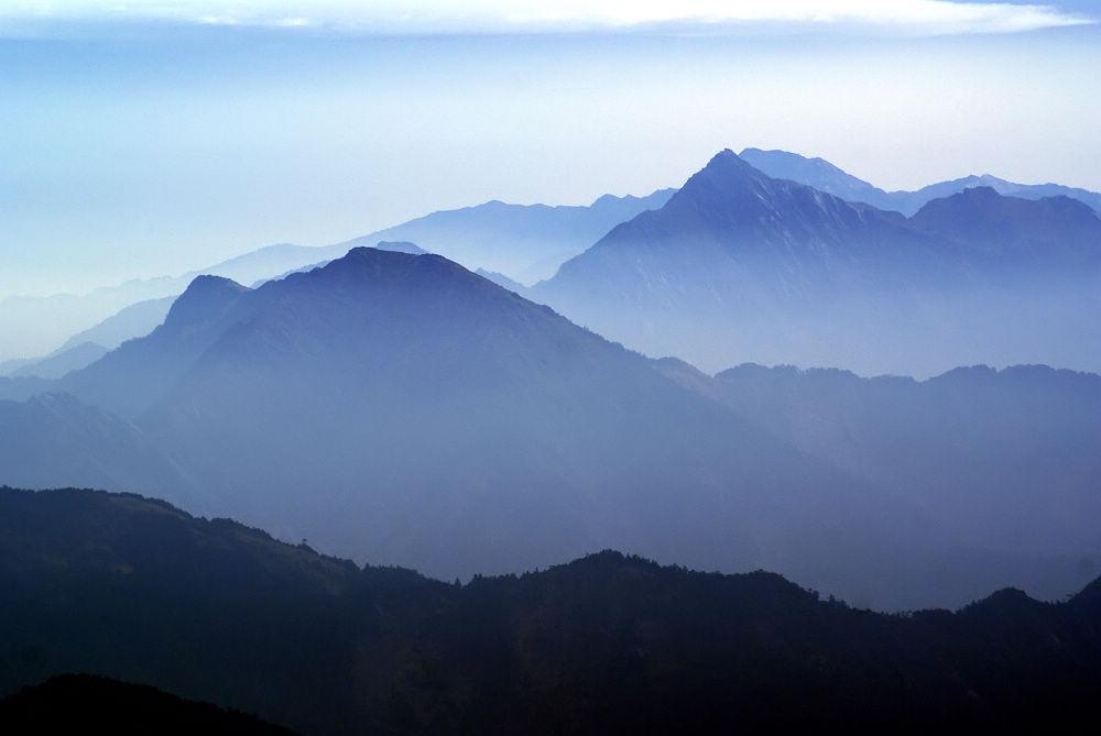 奇萊Day3-33 北一、二段群山