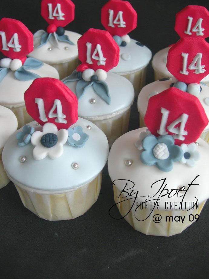 14th Cupcake