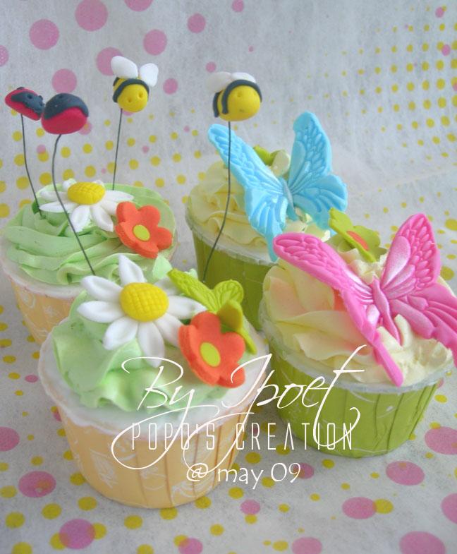 Garden Cupcake For Icha