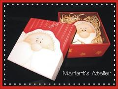 Sabonete - Papai Noel (Mariart's Atelier) Tags: sabonete sabonetepintado