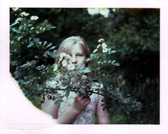 (Kate Pulley) Tags: summer girl polaroid michigan shelby cousin 320 packfilm iduv notamanda itsabouttimethathappened