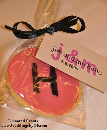 Monogram Cookie Favor