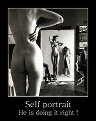 self portrait right (GnondPomme) Tags: selfportrait posters motivation willy ronis willyronis motivationposters gnondpommephotographie