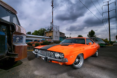 dodge challenger (bdebaca) Tags: dodge musclecars challenger musclecar carphotography strobits