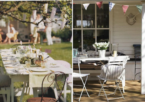 3633116506 6ec0fc0590 Inspiration: Outdoor Tables Paired with Cafe Chairs