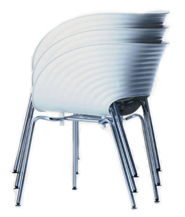 tom vac chair by vitra