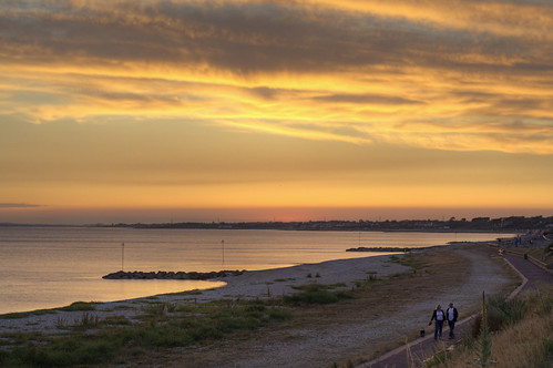 Lee On Solent Sunset