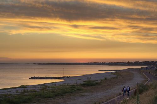 Lee On Solent Sunset