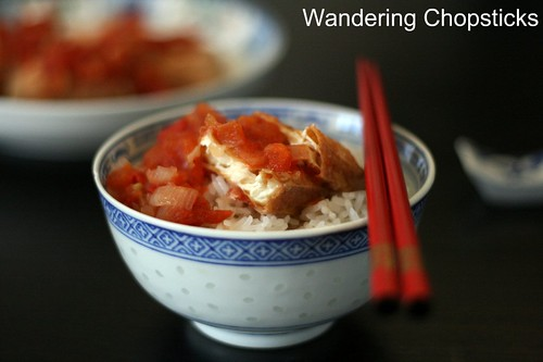 Dau Hu Chien Sot Ca Chua (Vietnamese Fried Tofu with Tomato Sauce) 11