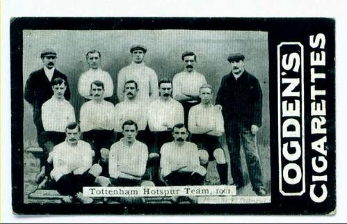 Cigarette Card - Tottenham Hotspur 1901