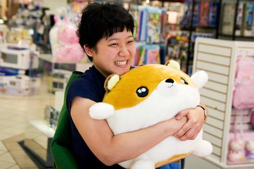 I hug fat hamster