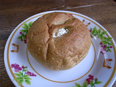 木村屋総本店の緑茶あんバター
