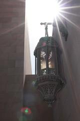 bahrain moschee laterne