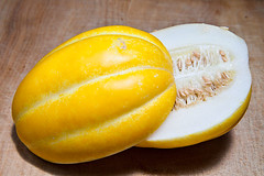Korean Melon (matt.koenig) Tags: food fruit flesh rind korea seeds eat korean melon koreanmelon canon5dii
