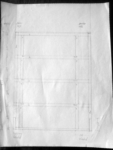 Drawer framework plan