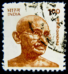 great stamp India 1.00 R. postage Mahatma Gandhi 1869-1948 Mohandas Karamchand Gandhi Gandhiji India stamp postes timbres Inde Indien Briefmarke sello India Marka postage selo   portrait Gandhi (stampolina) Tags: portrait orange brown india postes peace stamps retrato religion portrt stamp collection holy porto gandhi 100 braun timbre naranja ritratto arancio commonwealth indien postage franco portre  politic stempel revenue philately vis marke selo marka pacifism sello sellos filatelia mahatmagandhi sammlung  briefmarken  pulu briefmarke francobollo selos timbreposte bollo    timbresposte frimaerke sellodecorreo   timbru   commonwealthofnations   estampill ynd frankatur  bollato postapulu  jyu  selodecorreio