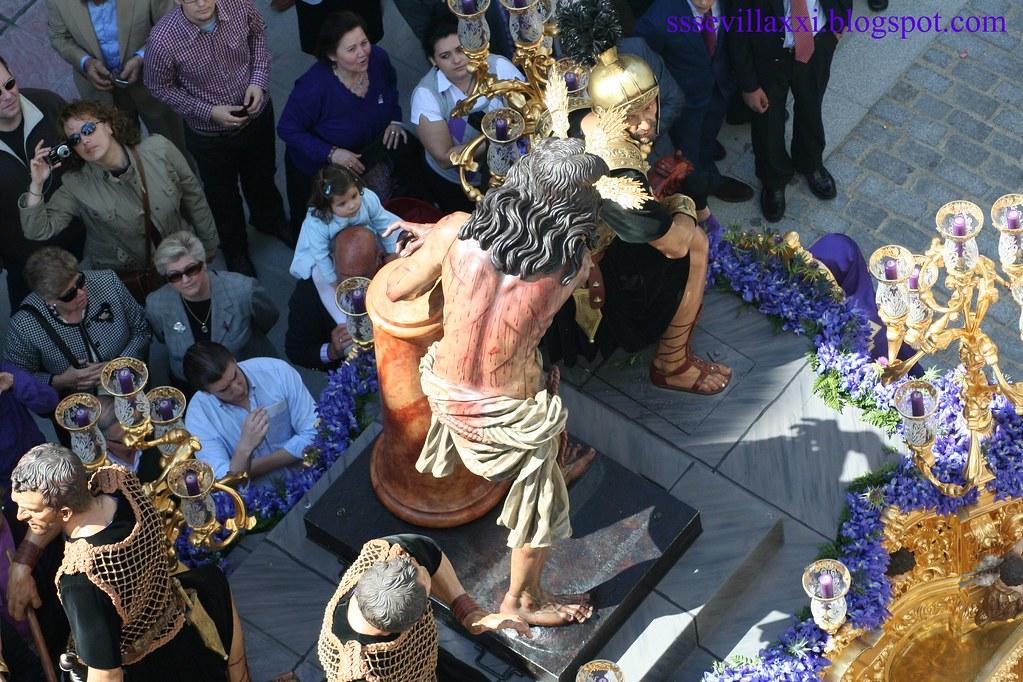 Misterio de la Sagrada Columna y Azotes, Jueves Santo 2010
