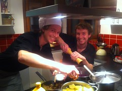 Skiology chef Luke Turner back in the kitchen !