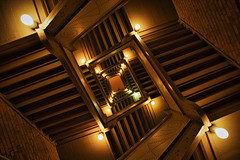 minneapolis minnesota underwear stairs (Dan Anderson (dead camera, RIP)) Tags: art minnesota architecture stairs design perspective minneapolis engineering stairwell stairway lookingup staircase recursive twincities escher mn doublehelix underware ims mcescher droste munsingwear internationalmarketsquare northwesternknittingcompany