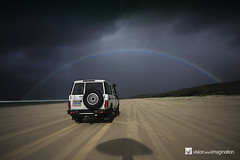 Moonbow = Rainbow at Night (Garry - www.visionandimagination.com) Tags: moon colour beach nature strange weather night landscape rainbow nocturnal oz australia fullmoon bow unusual aus fraserisland faint moonbow phenomenon aftermidnight blueribbonwinner whiterainbow 150000 150000views lunarrainbow golddragon worldbest alemdagqualityonlyclub worldsartgallery wwwvisionandimaginationcom