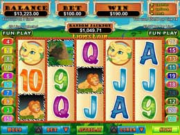 Lion's Lair Flash Video Slot