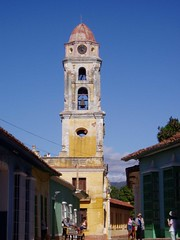 Tower in Trinidad (ChrisGoldNY) Tags: travel latinamerica americalatina scans forsale cuba viajes latin trinidad albumcover caribbean bookcover nondigital cuban vacations cubano latinaamerica chrisgoldny chrisgoldberg chrisgold chrisgoldphotos