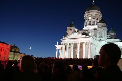 Helsinki, night of arts 2008