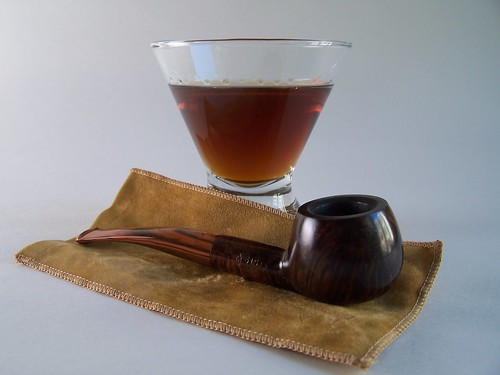 Pipe smoker's Manhattan