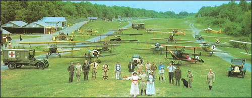 Postcard of Cole Palen's Old Rhinebeck Aerodrome