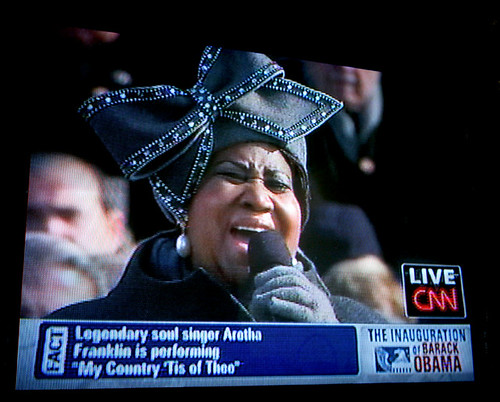Aretha Franklin's hat