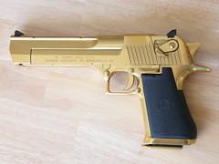 Desert Eagle .50AE (gswetsky) Tags: army gold israel desert eagle research 50 titanium defense league magnum caliber 50ae