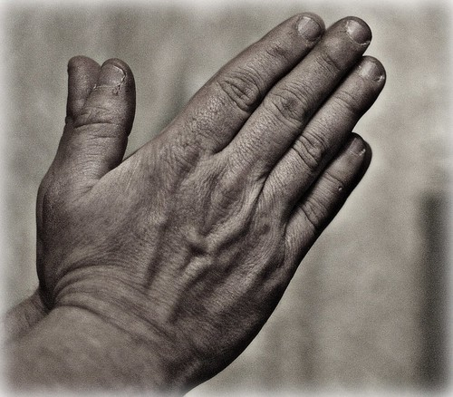 Praying hands...