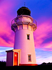 East Cape (rasenkantenstein) Tags: new newzealand sky sunrise purple east zealand cape lighttower eastcape konstantin rasenkantenstein