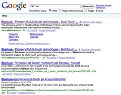 STANTUM - Recherche Google