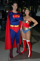 Superman and Wonder Woman (edwick) Tags: new york comic cosplay superman wonderwoman dccomics con nycc newyorkcomiccon