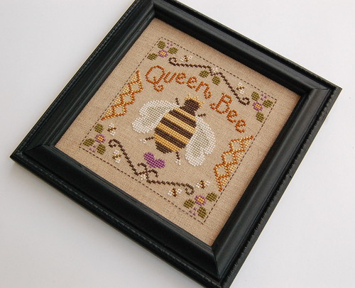 Queen Bee Framed