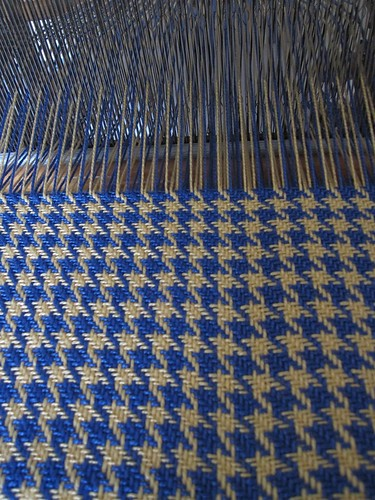 second weaving