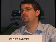 Matt Cutts at SMX West Show
