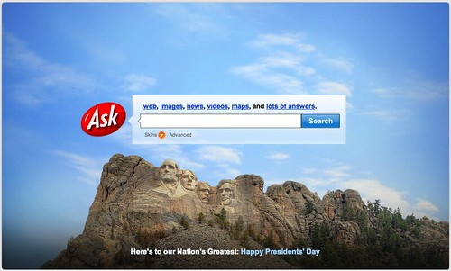 Ask President's Day Logo