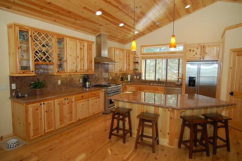 Kitchen cabinet doors for knotty pine