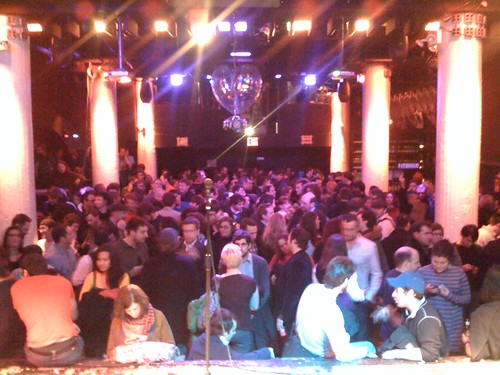 Crowd for IgniteNYC (where I gave my Family Feud talk!)