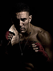 Old School Boxer (daronshade) Tags: boxing ufc figher mixedmartialarts oldschoolgym