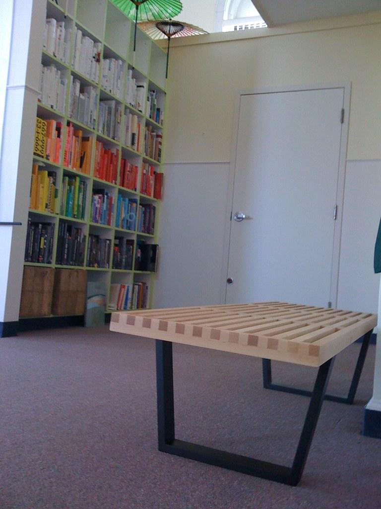 Bench Arrived Juhansonin Tags Wood Color Arlington Umbrella Studio Ma Book Design