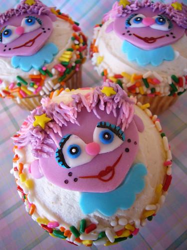 Abby Cadabby Cupcakes