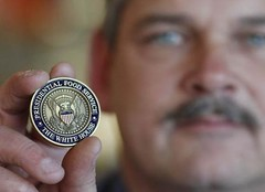 Presidential Food Service Coin
