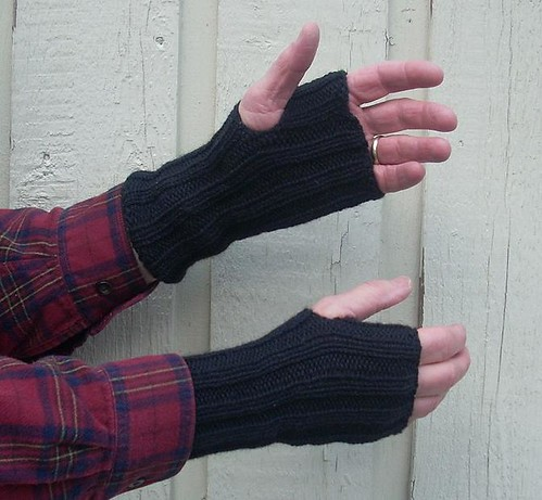 Dad's Fingerless Mitts