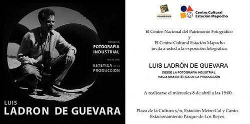 Exposición Luis Ladrón de Guevara en estación Mapocho (fotos dentro) abierta hasta el 10 de mayo